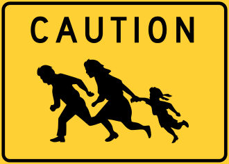 Caution migrants wikipedia