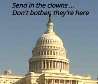 U.S. Capitol dome_clowns