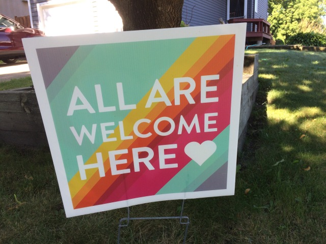 All are welcome here 1
