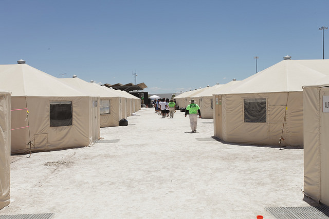 HHS tent city Tornillo